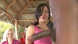 Hawt angels trim large penis