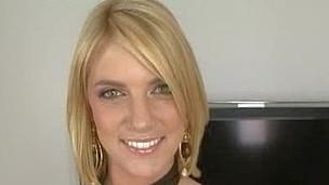 Golden-Haired Legal Age Teenager Sweetheart Sucks Jock