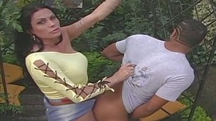 Karoline Gaucha lady-man screwing dude on episode