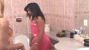 Shayene shemale dicking lady on episode