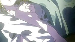 Sexy animated masturbation in advance of sleep