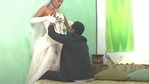Rabeche seductive shemale bride