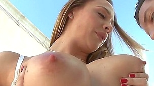 check out with amazing young female