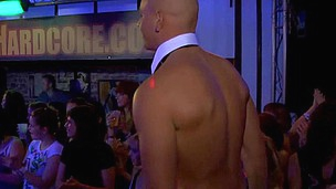 Undressed waiters welcomes to fuck