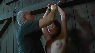 Wild torturing for sexy serf