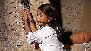 Tina Kay kidnapped her youthful Asian neighbor Ruth Medina and brought her in the cellar! Tina bongaged this innocent looking Asian babe and realized her most defiant masturbation dreams!