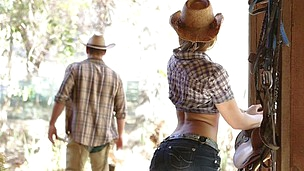 Cowboy style hookup with super hot and sexy Dani Daniels