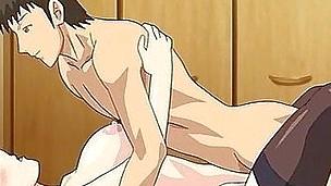 Manga porn with threesome sex scenes