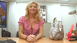 Daring blonde milf Christina is here to have unbelievable fuck